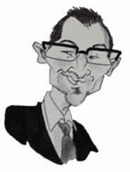 Jonathan Marroyen caricature
