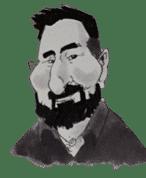 Salvador Fernandez Soriano caricature